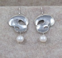 Silver Questions (white pearl)