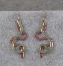 Copper / Brass Squiggles