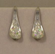 Silver Curved Lights (crystal)
